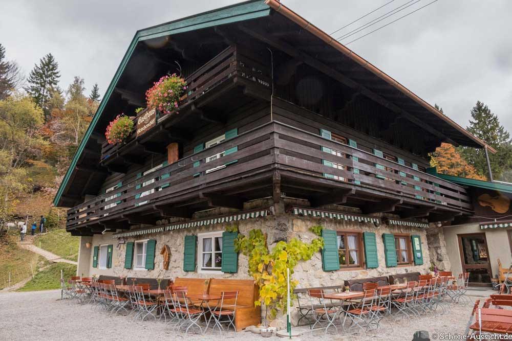 leutaschklamm Hütte