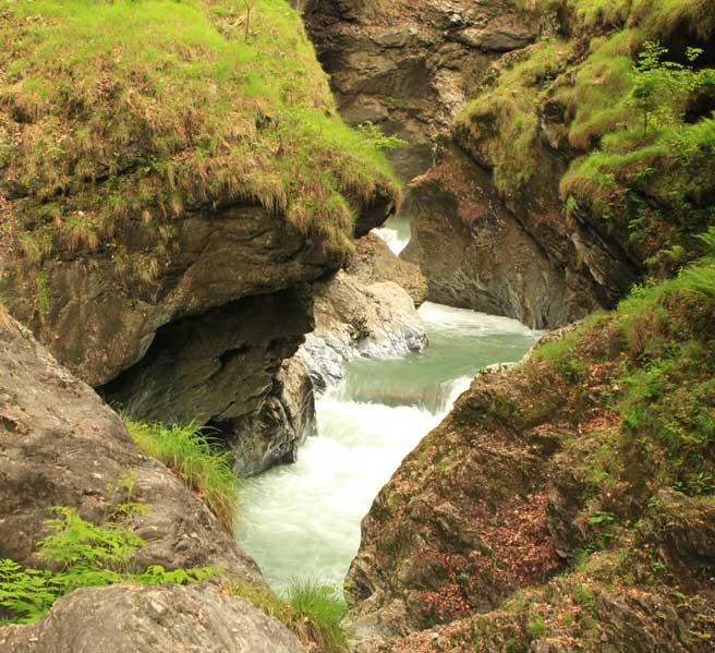 Canyoning in Ruhpolding zum Intersport Gipfeltreffen 20