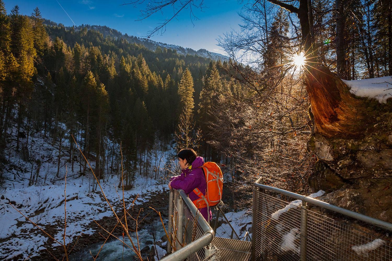 Breitachklamm im Winter - Die Klamm bei Oberstdorf 3