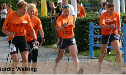 Nordic Walking - 16Km zum Obermain Marathon 1