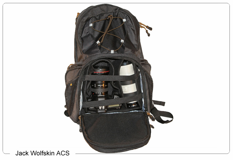 Jack Wolfskin ACS Fotorucksack im Test 2