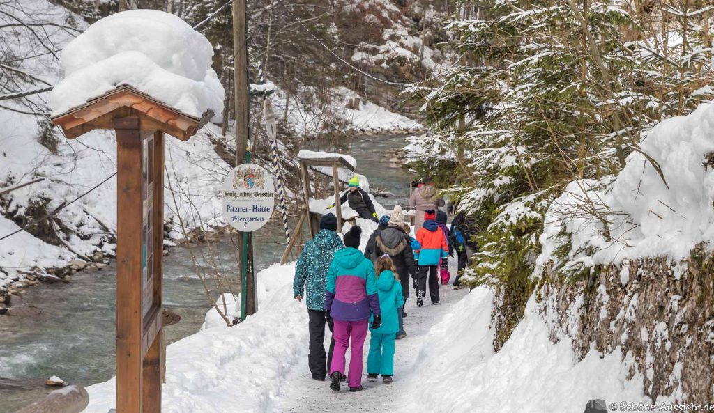 Partnachklamm im Winter - Kleinod in Garmisch-Partenkirchen 71