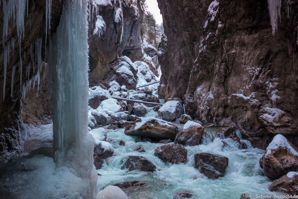 Partnachklamm im Winter - Kleinod in Garmisch-Partenkirchen 76