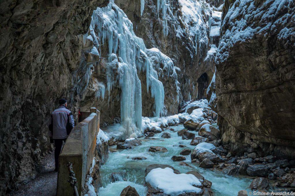 Partnachklamm im Winter - Kleinod in Garmisch-Partenkirchen 78