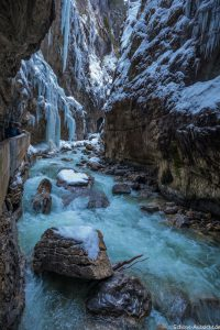 Wandern Bayern Partnachklamm
