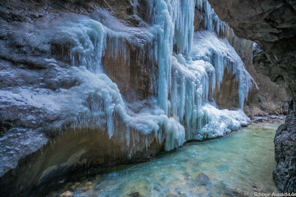 Partnachklamm im Winter - Kleinod in Garmisch-Partenkirchen 74