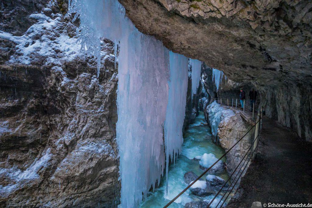 Partnachklamm im Winter - Kleinod in Garmisch-Partenkirchen 19