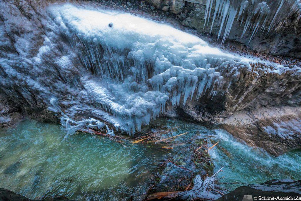 Partnachklamm im Winter - Kleinod in Garmisch-Partenkirchen 73
