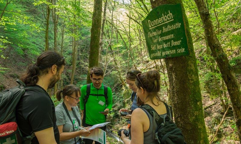 Bergschluchtenpfad Ehrenburg 17