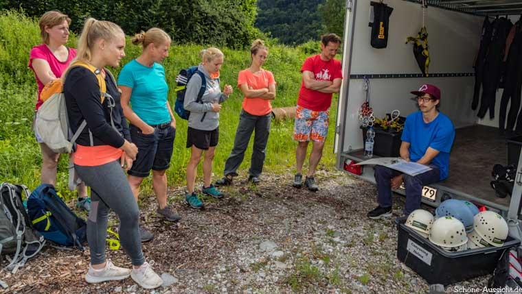 Canyoning in Ruhpolding zum Intersport Gipfeltreffen 1