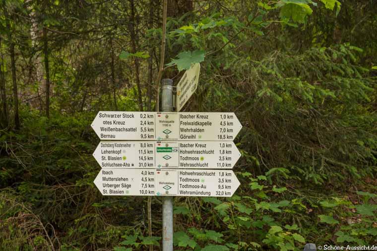 Schluchtensteig - Bericht der Etappe 5 mit GPS und Tipps zur Wanderung 13