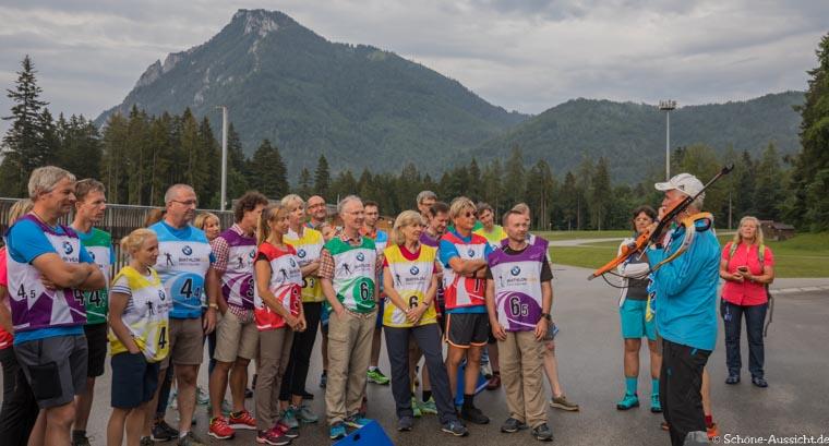 Gäste Biathlon in der Chiemgau Arena 3