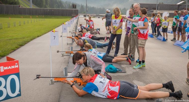 Gäste Biathlon in der Chiemgau Arena 4