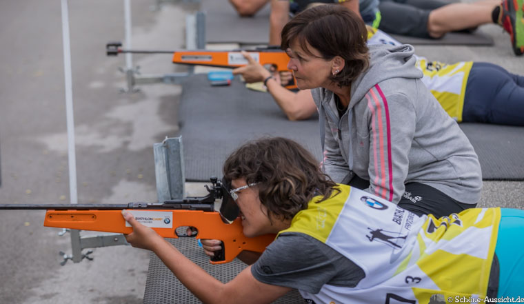 Gäste Biathlon in der Chiemgau Arena 9