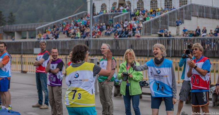 Gäste Biathlon in der Chiemgau Arena 8