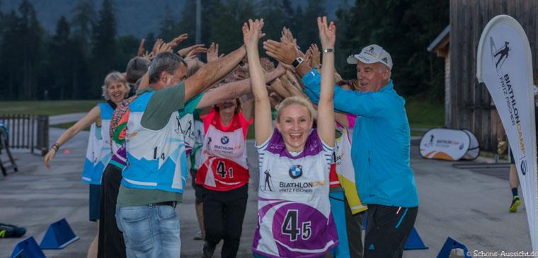 Gäste Biathlon in der Chiemgau Arena 11