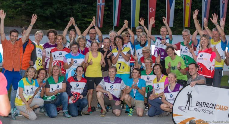Gäste Biathlon in der Chiemgau Arena 12
