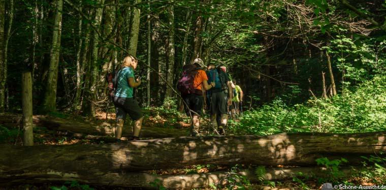 24h Wanderung Achensee Rofan 28