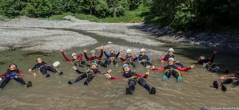 Canyoning in Ruhpolding zum Intersport Gipfeltreffen 3