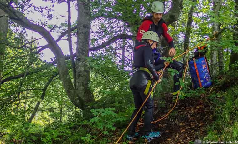Canyoning in Ruhpolding zum Intersport Gipfeltreffen 4
