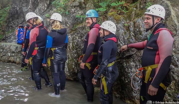 Canyoning in Ruhpolding zum Intersport Gipfeltreffen 6