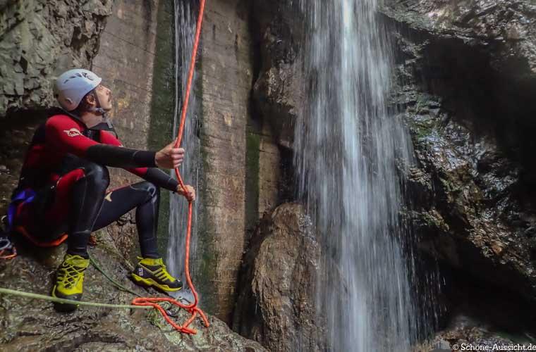 Canyoning in Ruhpolding zum Intersport Gipfeltreffen 5