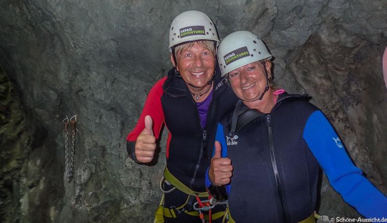 Canyoning in Ruhpolding zum Intersport Gipfeltreffen 8