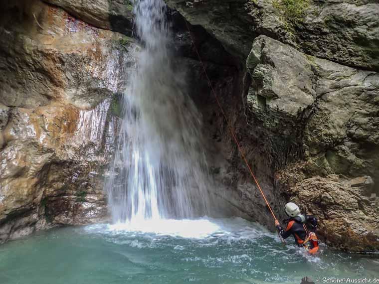 Canyoning in Ruhpolding zum Intersport Gipfeltreffen 10