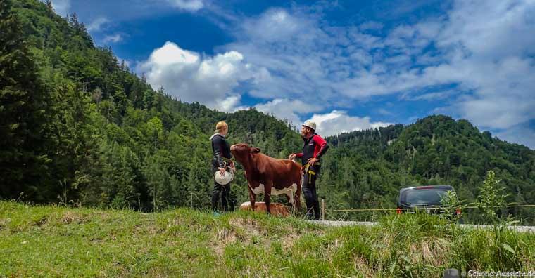 Canyoning in Ruhpolding zum Intersport Gipfeltreffen 16