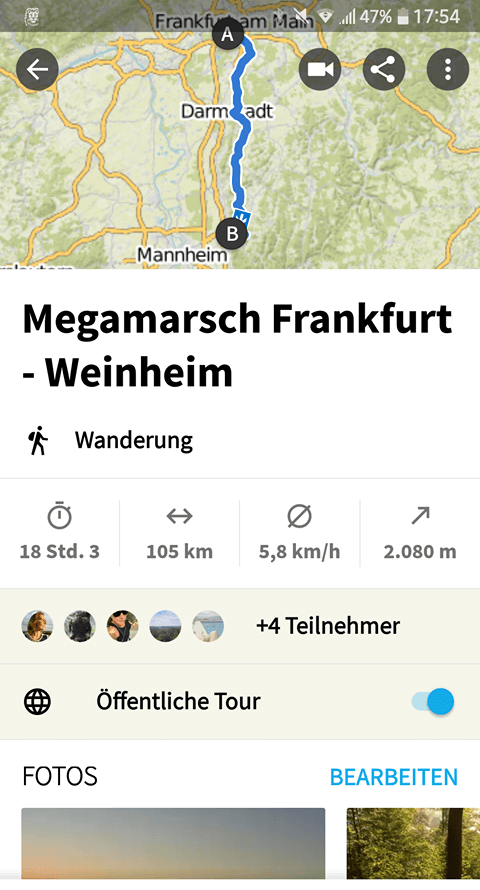 Megamarsch Frankfurt 30