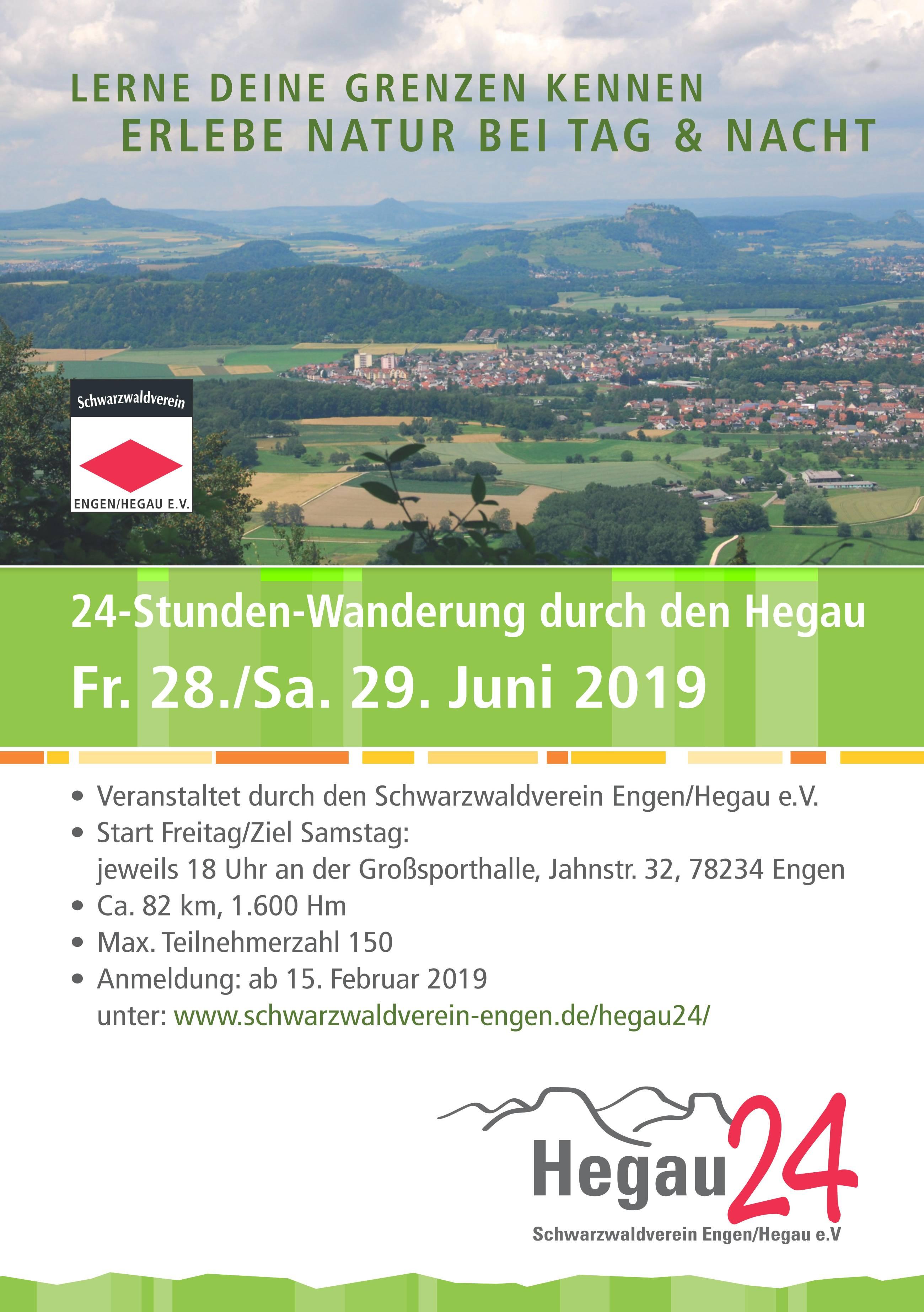 Hegau24 - Die 24h Wanderung im Hegau 1