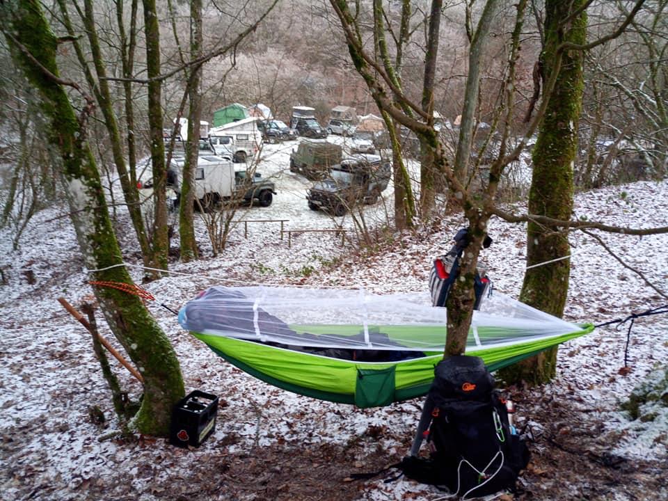 Dachzeltnomaden Wintercamp 2