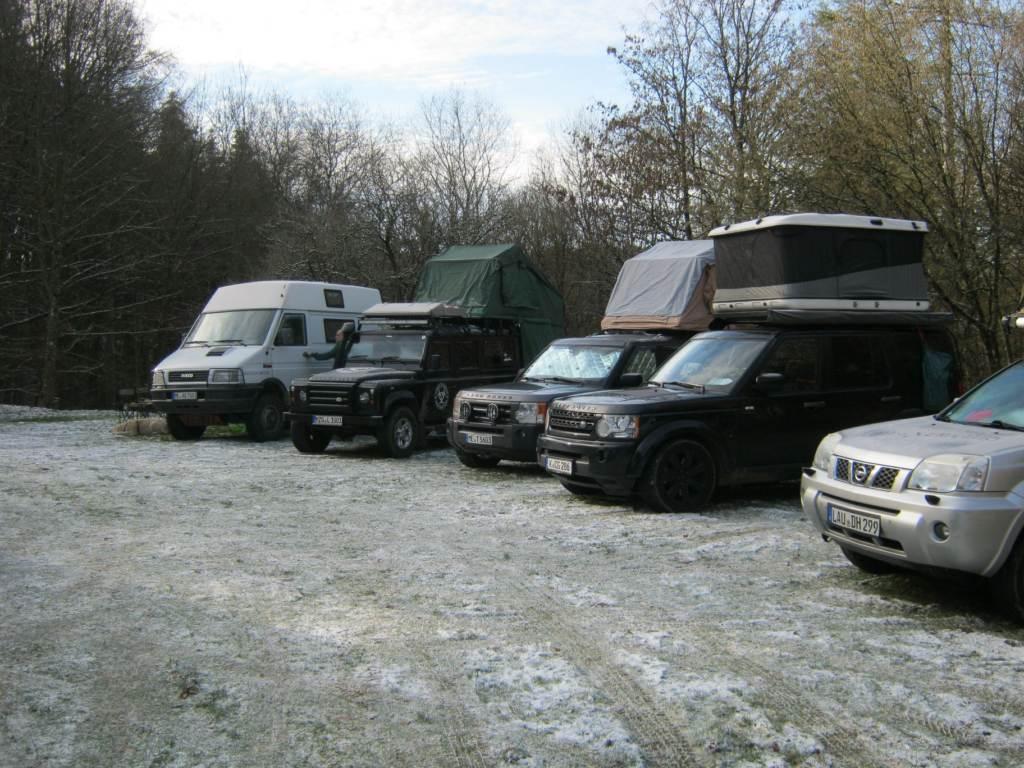 Dachzeltnomaden Wintercamp 4