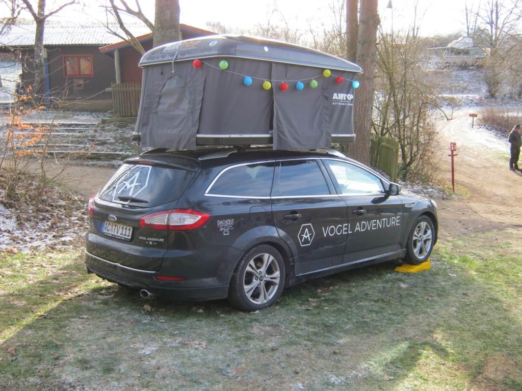 Dachzeltnomaden Wintercamp 5