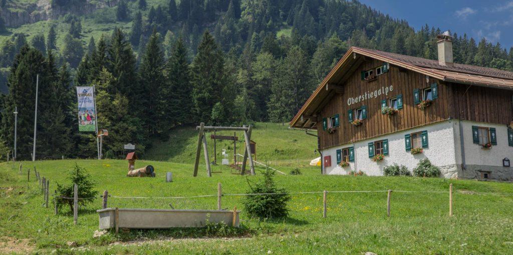 Alpenfreiheit Wanderung in Oberstaufen 28