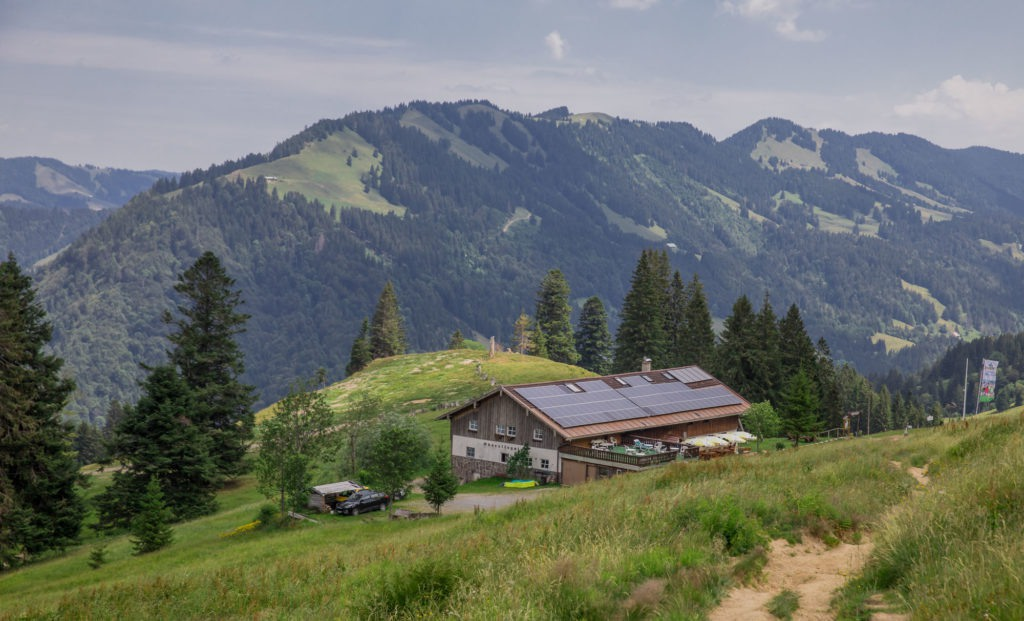 Alpenfreiheit Wanderung in Oberstaufen 29