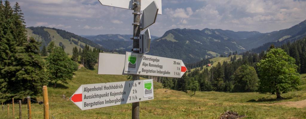 Alpenfreiheit Wanderung in Oberstaufen 38