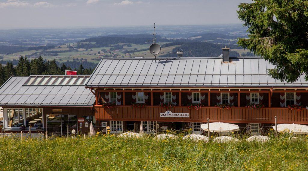 Hütten in Bayern mit Wanderwegen