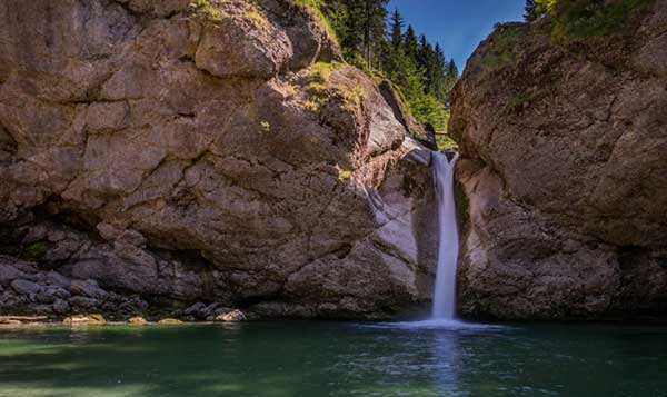 Wanderweg Wildes Wasser