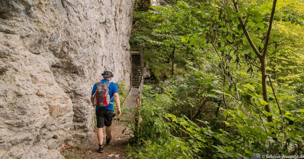 Hossinger Leiter - Ein Traufgang mit Weitblicken 22