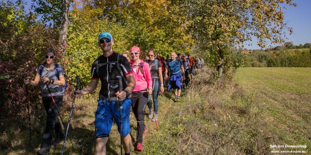 24h Wanderung am Donausteig 100