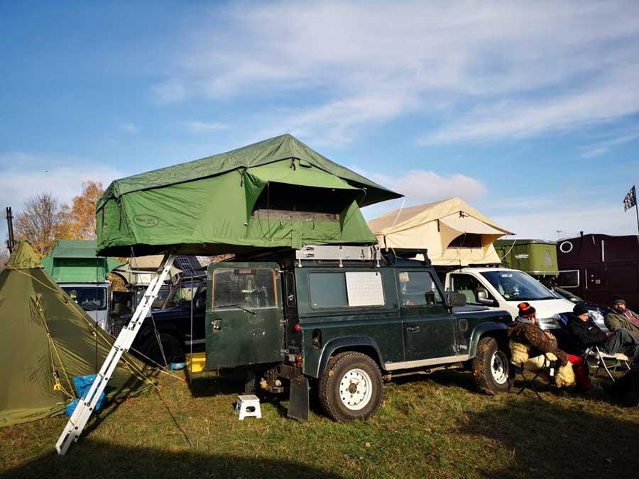 Ich habs drauf - Ein Dachzelt auf dem Auto 58