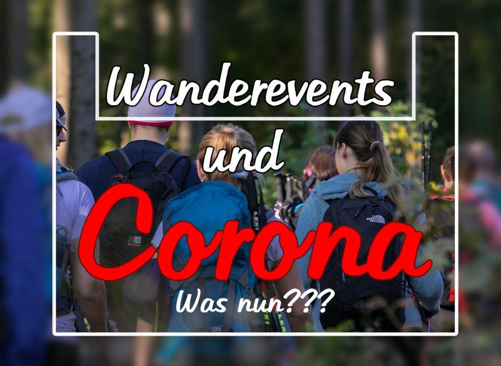 Wanderevents und Corona 18