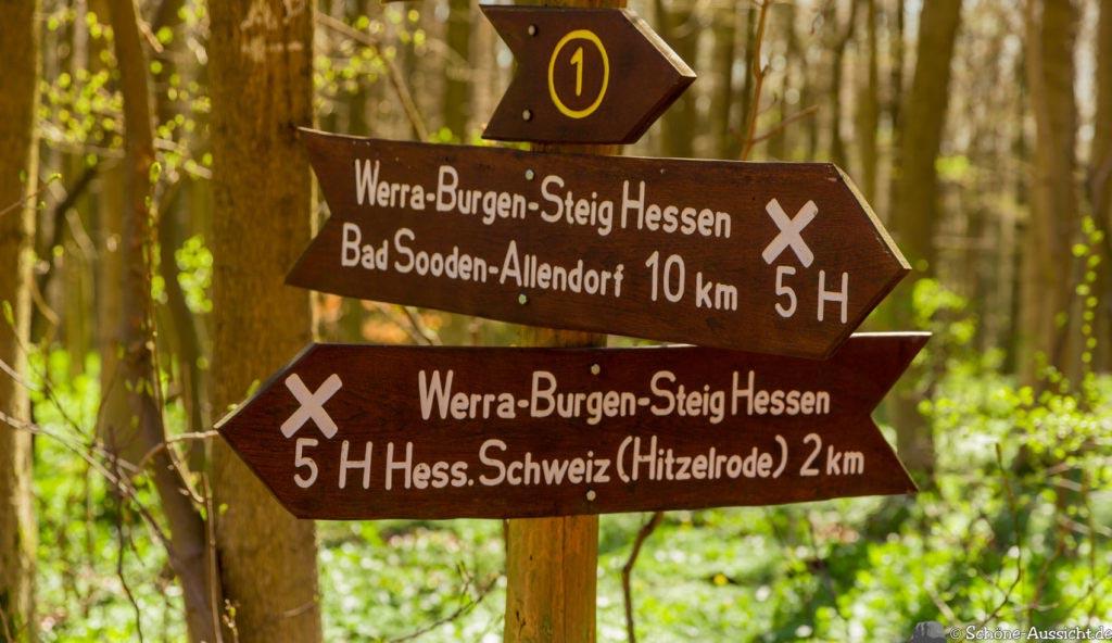 Werra-Burgen-Steig Hessen 250