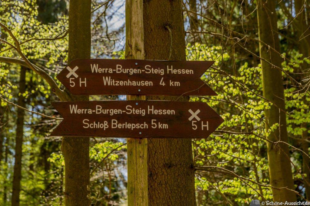 Werra-Burgen-Steig Hessen 208