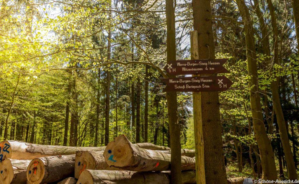 Werra-Burgen-Steig Hessen 209