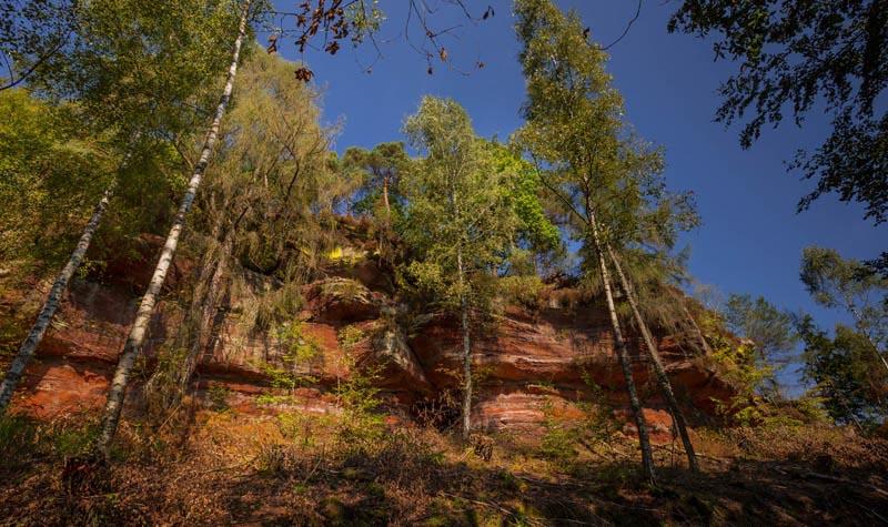 Der Altschloßpfad zum Altschloßfelsen - Unverhofft beeindruckend 138