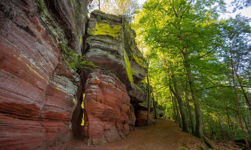 Der Altschloßpfad zum Altschloßfelsen - Unverhofft beeindruckend 160