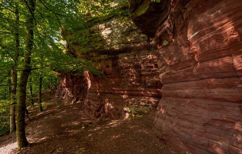 Der Altschloßpfad zum Altschloßfelsen - Unverhofft beeindruckend 179