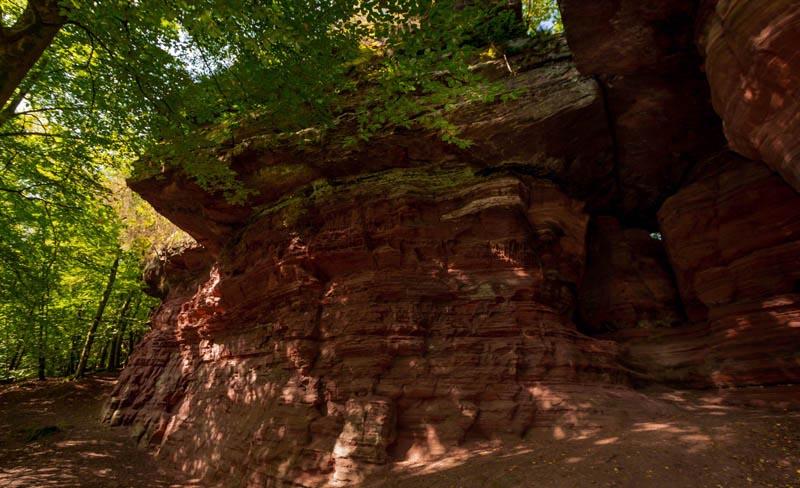 Der Altschloßpfad zum Altschloßfelsen - Unverhofft beeindruckend 180